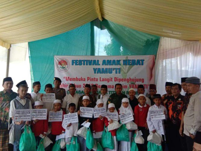 FESTIVAL ANAK HEBAT YAMU'TI Membuka pintu langit dipenghujung akhir tahun 2018 bersama Yatim Yamu'ti
