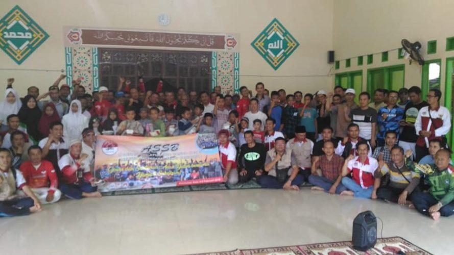 Gowes Peduli Anak Yatim jilid 2 ke daerah Cisolok Palabuhanratu