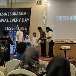 Acara Silaturahmi Tessline Indonesia Bersama Anak-anak Yatim Cabang Sukabumi