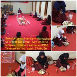 Do'a Bersama dan Buka Bersama Anak Yatim dan Dhuafa