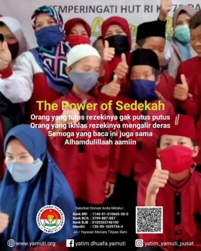 THE POWER OF SEDEKAH