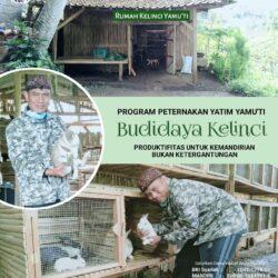 WAKAF PRODUKTIF (Budidaya Kelinci)
