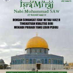 Memperingati Isra' Mi'raj 1442 H