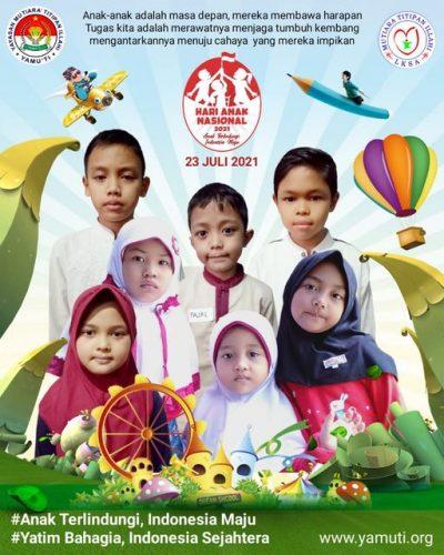 Memperingati Hari Anak Nasional