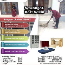 Program Oktober Yamuti