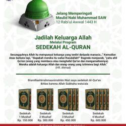 SEDEKAH AL - QUR'AN